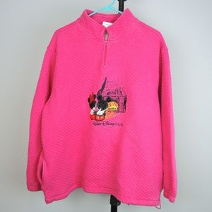 Walt Disney World Tops - Walt Disney World WDW Quilted Sweatshirt